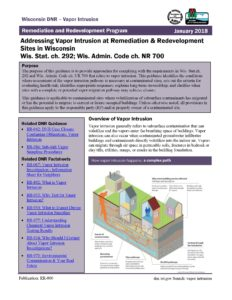 Page one of updated publication
